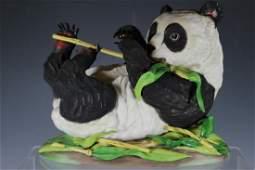 Boehm Giant Panda Cub Porcelain Figure