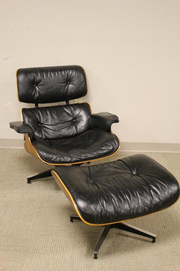 Charles & Ray Eames Hermin Miller Chair and Ottoman