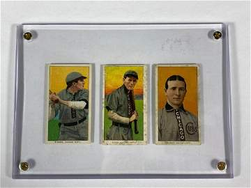 Tinker, Evers, Chance T206 Cards Chicago Cubs