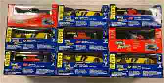 Collection of 9 Revell Pro Finish Model Car Kits NIB