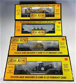MTH Rail King O Gauge Transportation Freight Cars NIB