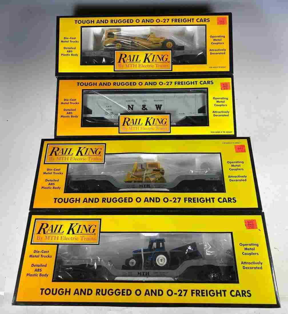 MTH Rail King O Gauge Transportation Freight Cars NIB