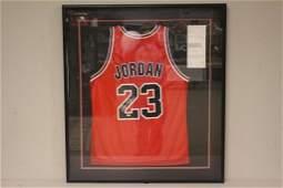 UDA Michael Jordan Signed Jersey JSA 9 Graded