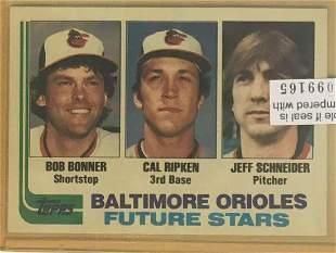 1982 Topps #21 Cal RIpken Jr. Rookie Card