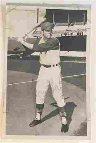 Tony Horton Autographed 1960's Photo Postcard