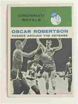 1961 Fleer Basketball #61 Oscar Robertson