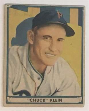 1941 Play Ball #60 Chuck Klein