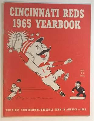 1965 Cincinnati Reds Yearbook