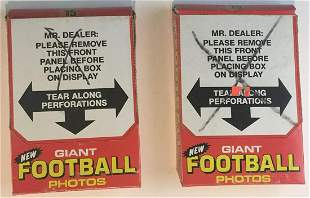 1980 Topps Giants Football Unopened Boxes