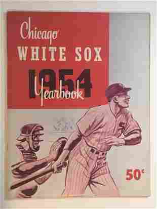 1954 Chicago White Sox Yearbook