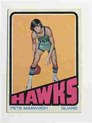 1972-73 Topps Basketball Pete Maravich