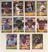1984 Donruss Stars w/ Mattingly Rookie
