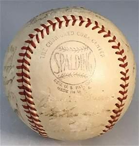 1951 Brooklyn Dodgers Team Signed Baseball