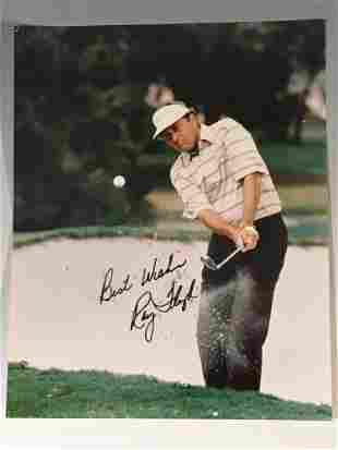 Ray Floyd Signed and Inscribed Photo