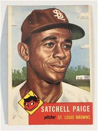 1953 Topps #220 Satchell Paige