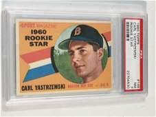 1960 Topps #148 Carl Yastrzemski PSA 7