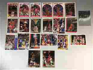 Michael Jordan Basketball Card Collection (21)