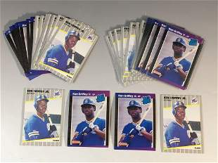 1989 Ken Griffey Jr. Rookie Card Lot (40)