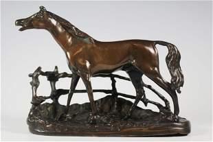 Pierre Jules Mene Bronze Horse