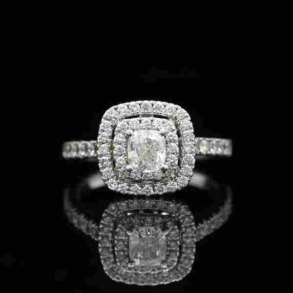 Nei Lane 14k White Gold Diamond Bridal Set