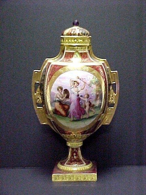 3: Royal Vienna Lidded Urn