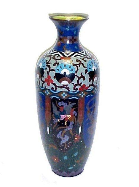 5: Large Cloisonné Vase