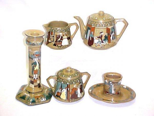 11: Buffalo Deldare Ware Pottery