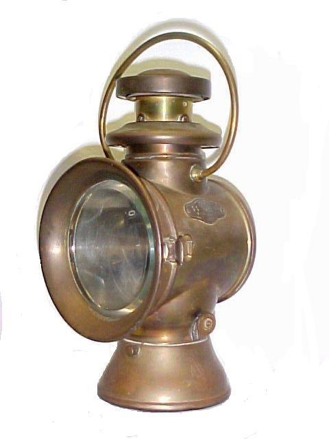 17: Brass Side Light /Lantern