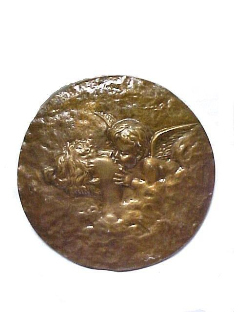 24: Victorian Bronze Plaque
