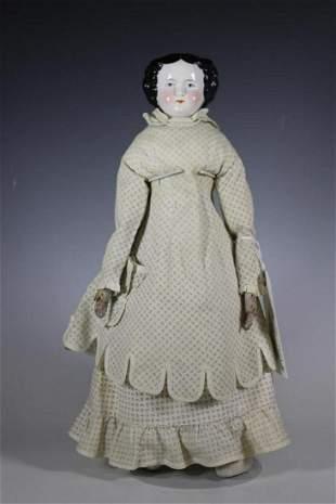 """18"""" High Brown Kestner German Head Doll"""