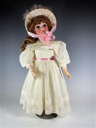 """25"""" Antique Pansy German Armand Marseille Doll"""
