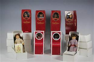 14 American Girls Collection Mini Dolls All in Boxes