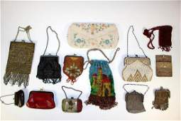 15 Vintage Coin Purses Wallets Hand Bags