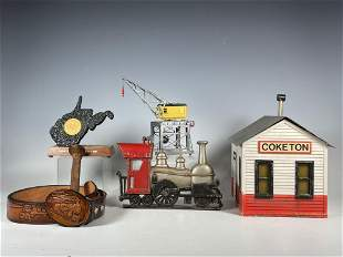 Group Lot of Railroad and Train Related
