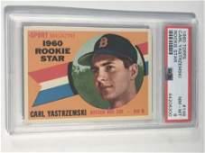 1960 Topps #148 Carl Yastrzemski Rookie PSA 8