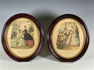 Two 19th Century French Fashion Prints