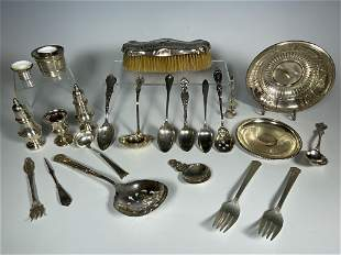 Sterling Silver Collection 24.7ozs
