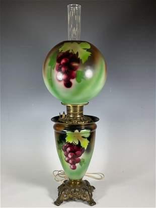 19th Century Victorian Parlor Lamp