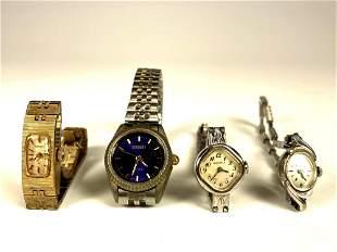 Four Vintage Ladies Wrist Watches