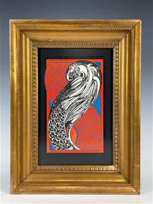 BILL GRAHAM 1st Edition 1967 Concert Hand Bill Fillmore