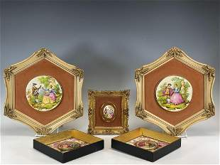 Group of Mid 20th Century Framed Italian Plaques