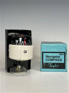 NOS Taylor Navigator 2980 Dash Compass