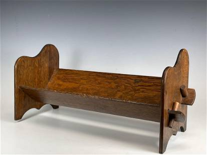 American Arts and Crafts Mission Oak Book Stand