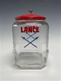 Vintage Lance Cracker Candy Advertising Store Display