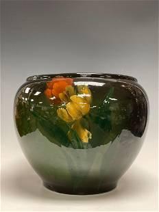 AMERICAN Art Nouveau Pottery Standard Glaze Jardiniere