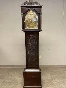 English Oak Tall Case Clock by T. Walesby of Horncastle