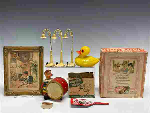 Vintage Tin Toys 1931 Baby Ruth Box Noise Makers Model