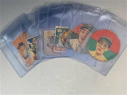 Vintage Japanese Baseball Card Lot (10)