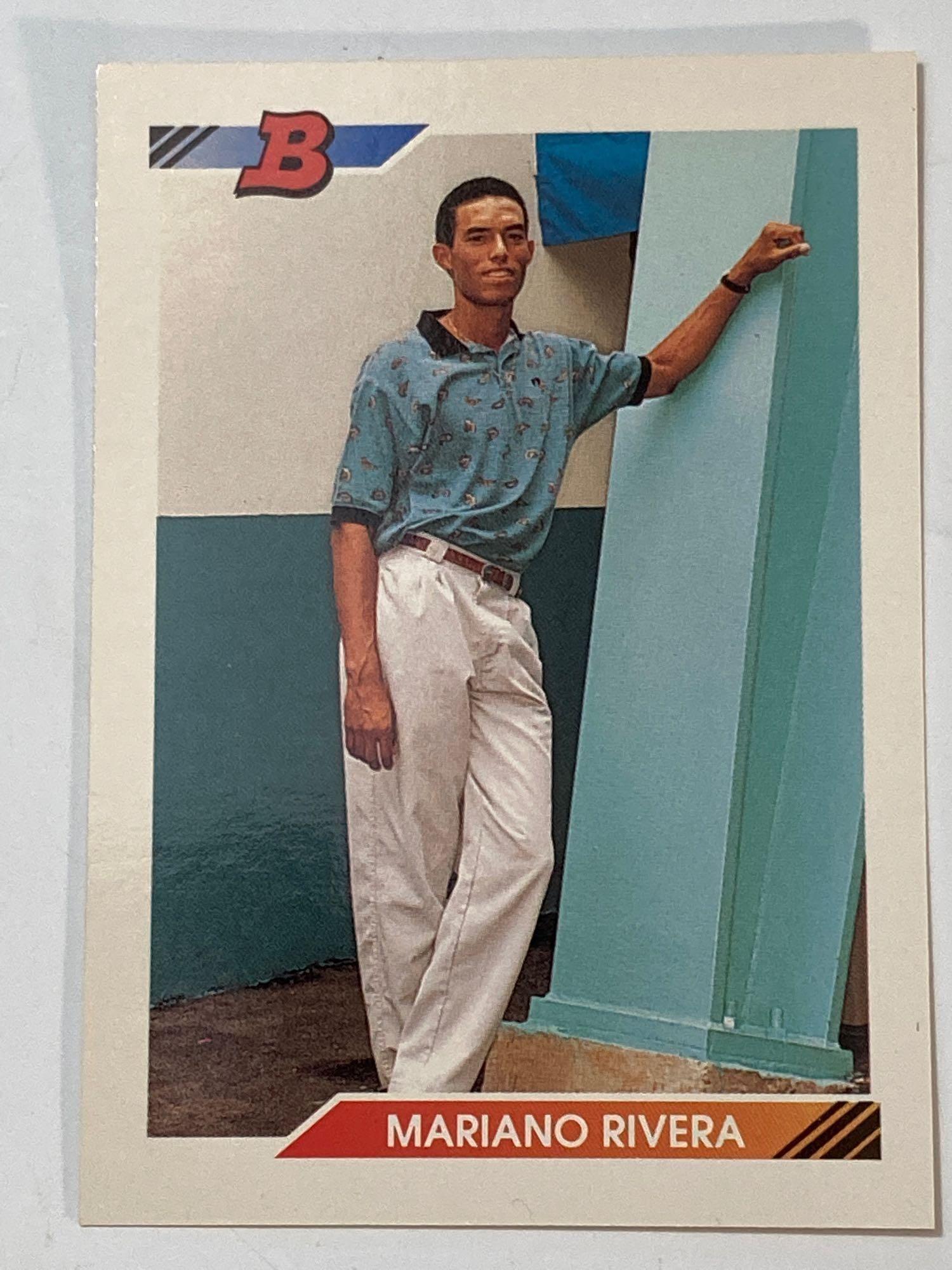 1992 Bowman #302 Mariano Rivera Rookie Card
