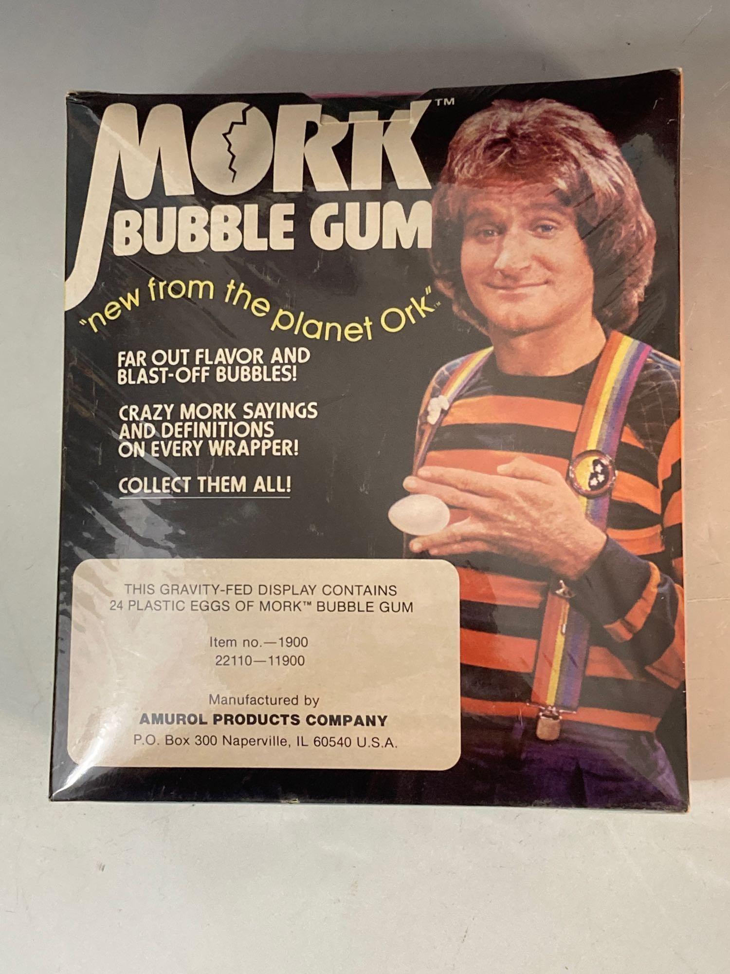 1978 Mork Bubble Gum Unopened Box of Gum Eggs